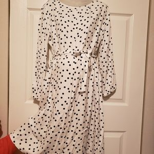 Isabella Oliver dot dress